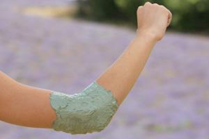 Arcilla tratamiento anti-dolor