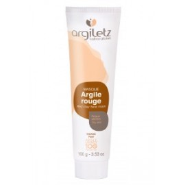 Tube d'Argile Rouge 100g